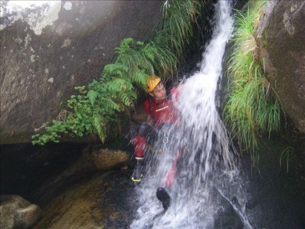 Canyoning no Rio Carcerelha