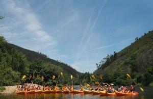 Canoagem no Rio Mondego