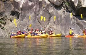 Expedição em Canoa Douro Internacional