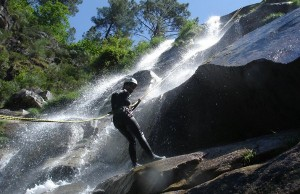 Canyoning Rio Frades e Teixeira
