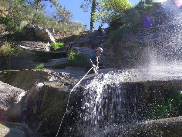 Canyoning no Rio Lordelo
