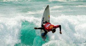 Surfistas portugueses