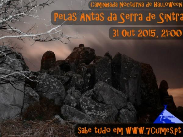 Caminhada Nocturna de Halloween Pelas Antas da Serra de Sintra