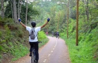 Descida da Ecopista do Dão em Bicicleta promovido pela Aventuris