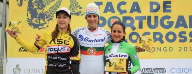 Ricardo Marinheiro e Isabel Caetano triunfam no Ciclocrosse em Sobrado, Valongo